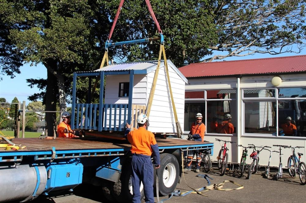 NZ Cranes lends a lift to help raise funds for Te Puea Marae