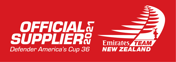 Supplier to Emirates Team NZ in the 2021 Americas Cup.
